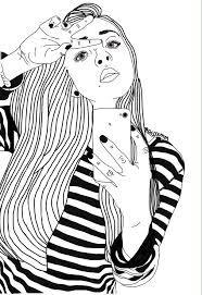 Bilderesultat for dessin noir et blanc