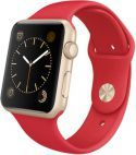 Buy Apple Watch Sport Gen with Gold Aluminium Case & Sport Band, Midnight Blue from our View All Smart Watches range at John Lewis & Partners. Apple Wrist Watch, Buy Apple Watch, Apple Watch 42mm, Apple Watch Series 2, Apple Watch Bands, Orange Band, Blue Band, Apple Sport Band, Grey Watch