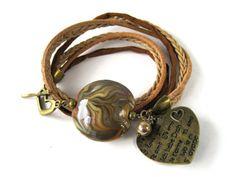 Lampwork bracelet Glass Jewelry, Glass Beads, Jewelry Necklaces, Jewellery, Bracelets, Lampworking, My Glass, Lampwork Beads, Etsy