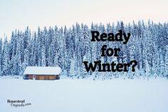 Get Prepared…Winter Vehicle Emergency Bags:  http://homesteadoriginals.com/4633-2/