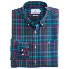 Discover a wide collection of men's shirts in solid, gingham, checked, and plaid patterns. Winter Fashion, Men's Fashion, Flannel Shirts, 3rd Eye, Southern Tide, Sports Shirts, Mens Suits, Tartan, Casual Shirts