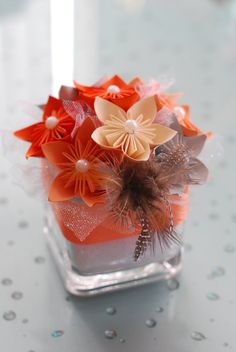 orange peach and silver, gray Christmas decorations | ... orange, gold, silver, navy blue, bronze, brown, purple, beige, ivory