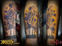 Fenerbahce SK-Raul Jose Trindade Meireles Tattoo