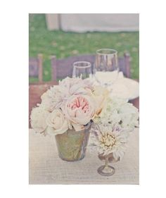 Silver Lining | Elegant table arrangements that complement your wedding day…