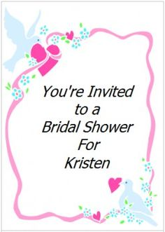 Got a bridal shower to attend?