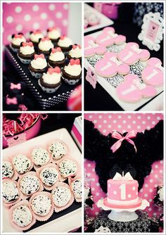 Mesa dulce fiesta  #Minnie en rosa