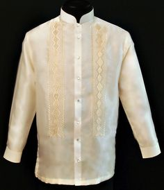 Organza Boy's Barong Tagalog Barongs R Us committed to offer qualitative and extensive range of original Barong suits, dresses, branded clothing, Barong Tagalog for men & Filipiniana dresses for women. Barong Tagalog, Filipiniana Dress, Wedding Entourage, Chinese Collar, First Communion Dresses, Line Shopping, Formal Looks, Tunic Tops, Suits