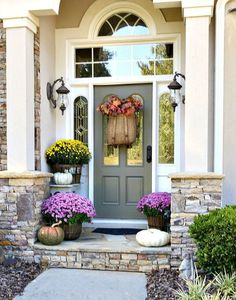 Savvy Southern Style: Fall Porch as Easy as 1,2, 3