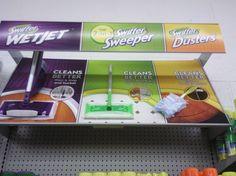 Swiffer in-aisle demo