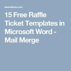 38 best raffle tickets design images ticket design templates