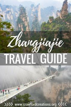 Plan your trip to Zhangjiajie with ease. Find out where and how to see all the best sites and coolest attractions around Zhangjiajie and Wulingyuan. Get started on planning your own epic trip to China's Avatar Mountains today! Zhangjiajie, China Travel Guide, Asia Travel, Places To See, Places To Travel, Travel Destinations, In China, Travel Guides, Travel Tips