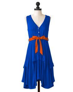 @Boise State University Team Flirty Dress! #boise #gameday