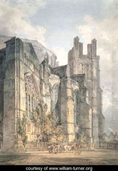 St Anselms Chapel, Canterbury Cathedral - Joseph Mallord William Turner - www.william-turner.org
