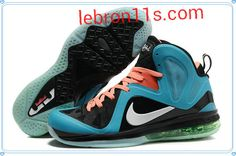 size 40 25e54 b7bad Buy Nike LeBron 9 PS Elite South Beach Glacier Blue Black Orange Online  from Reliable Nike LeBron 9 PS Elite South Beach Glacier Blue Black Orange  Online ...