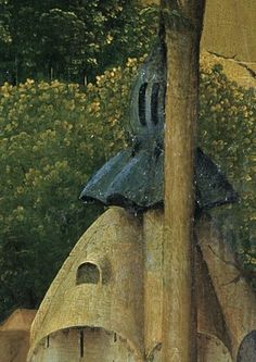 Detail from The Temptation of Saint Anthony, Hieronymous Bosch, After 1490 Temptation Of St Anthony, Hieronymus Bosch, Macabre, Painters, Netherlands, Mystic, Imagination, Detail, Landscape