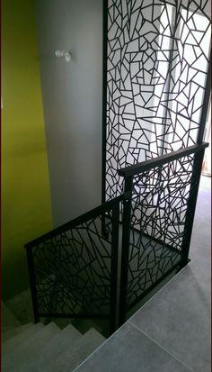 escalier garde corde escalier pinterest cordes escaliers et garde corps escalier. Black Bedroom Furniture Sets. Home Design Ideas