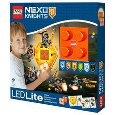 Lego LEGO Nachtlamp met stickers Nexo Knights