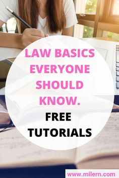 In this mini-law school tutorials you can learn law because learning law can be particularly useful fun for your daily life. Learning the law through videos is easy.  Learning legal rules should not be prohibitively expensive. How to learn the  law and how to study law learning.        law  help legal help legal help lawyer how to get legal help law services legal  services legal services lawyer law firm services        #attorney #lawyers #lawschool Rules And Laws, Paralegal, School Subjects, Law School