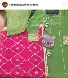 Beautiful details and colors by Rubina Bajwa Innovations.