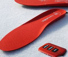 Keep your tootsies warm during the coldest winter months by walking around with a pair of rechargeable headed insoles in your shoes. Once charged, they can be controlled remotely and set to one of three different temperature settings for maximum comfort.
