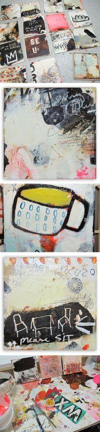 Line Juhl Hansen. paintings 2010.