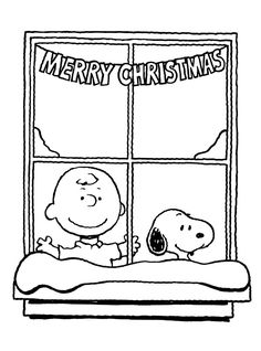 A Charlie Brown Christmas Coloring Pages Charlie Brown and his