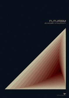 Futurism - Simon C. Page / Simon Page / Simon C Page / Page / SC Page / S.C. Page / simoncpage / simonpage - poster - graphic design - Optical Illusion