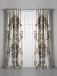 Couture Dreams Enchantique Sable Cotton Window Curtain