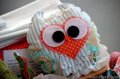 Lovely owl ~ Various handmade owl dolls by Manuela - Manuscrap Wordpress