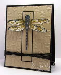 The Quiet Moments: Five Minute Friday: Dragonfly CASE using @CraftersCompanion and @SpectrumNoir