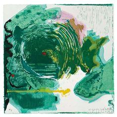 Helen Frankenthaler (American, 1928-2011) Radius | Sale Number 2977B, Lot Number 64 | Skinner Auctioneers