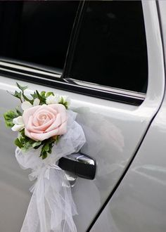 flowers wedding car - Recherche Google