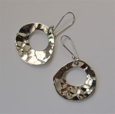 Pebbles Designer Jewellery - St Ives, Cornwall. Silver earrings by Tianguis Jackson