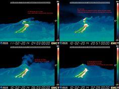 Volcanic activity worldwide 12 Feb 2014: Kelud, Mammoth Mountain, Etna, Kilauea