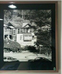 "Jim Morrison's house in Laurel Canyon, the infamous house on 'Love Street' shared with Pamela Courson, his ""Cosmic Mate""."