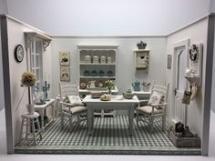 Les Carnets de l'Atelier Blondie: The Dining Room Shabby Chic