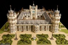 When it was built, it was hailed as one of the finest buildings of its age – only to be destroyed 150 years later.Now Henry VIII's 'lost' palace can be seen for the first time in more than 300 years – in a scale model based on 50 years of research.The replica of Nonsuch Palace – so named because there was no other like it – took 1,250 hours to make.