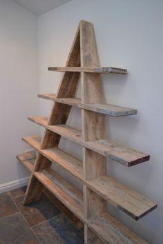 Scaffolding Board Shelving Ladder - reclaimed | eBay