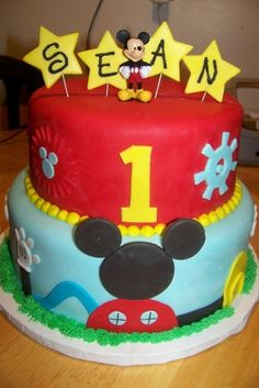 Mickey Mouse Clubhouse By mommyjones on CakeCentral.com