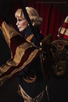 Bioshock Infinite Cosplay Patriot This 'Overwatch' T...