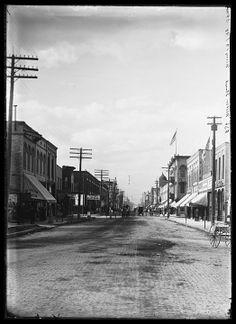 Main Street ~ Kenosha, WI (1898)