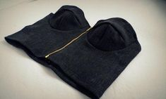 Front Zip Bralet - Bra by Libellulaa | Craftsy