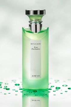 Bulgari Green Tea / clean, crisp, summer scent / Four Seasons Hotel George V, Paris uses this range in their bathrooms