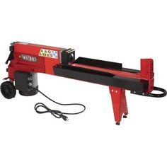 Amazon.com: Wel-Bilt Horizontal Electric Log Splitter - 5-Ton: Patio, Lawn & Garden $270, $115 shipping, 5 stars