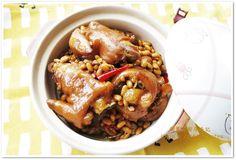 [黃豆燉豬腳] 先蒸後燒超簡單食譜、作法 | 朱麗安廚房手記的多多開伙食譜分享