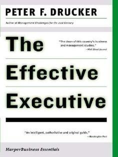 Effective Executive (NOOK Book)