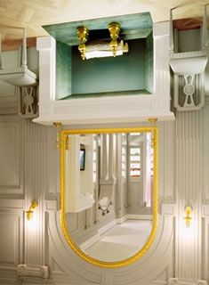 The upside down Viktor and Rolf Store in Milan.