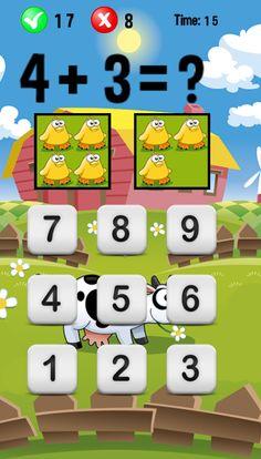 sumas para niños -#matematicas #app #android