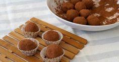 Cómo hacer trufas de chocolate. Receta casera y muy fácil