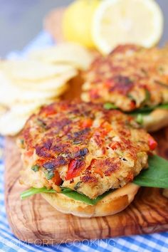 Tasty crab cake sliders. yep I'm in!